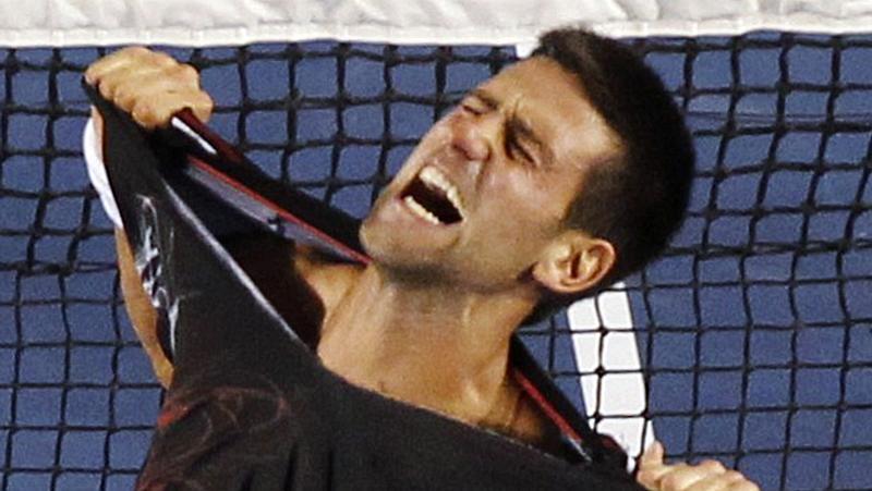Novak Djokovic, vencedor do Aberto da Austrália 2012