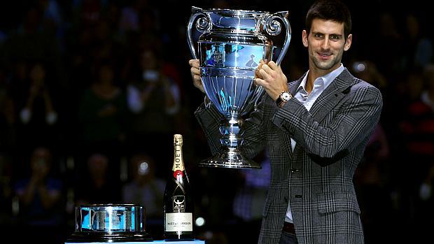 Novak Djokovic venceu 70 das 74 partidas que disputou na temporada 2011