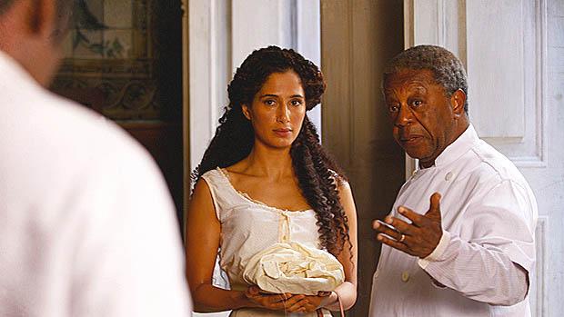 Isabel (Camila Pitanga) na novela Lado a Lado