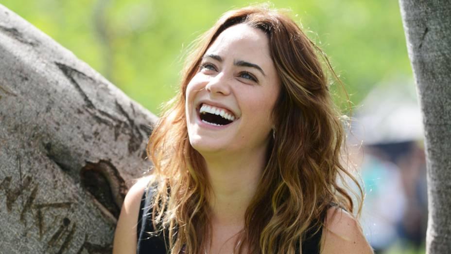 Malu ( Fernanda Vasconcellos) na novela Sangue Bom