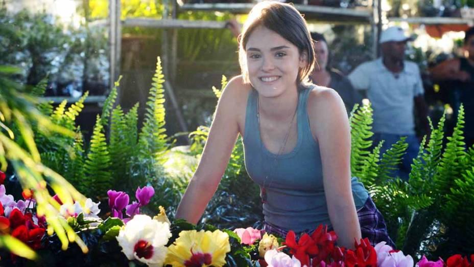 Giane (Isabelle Drummond) na novela Sangue Bom