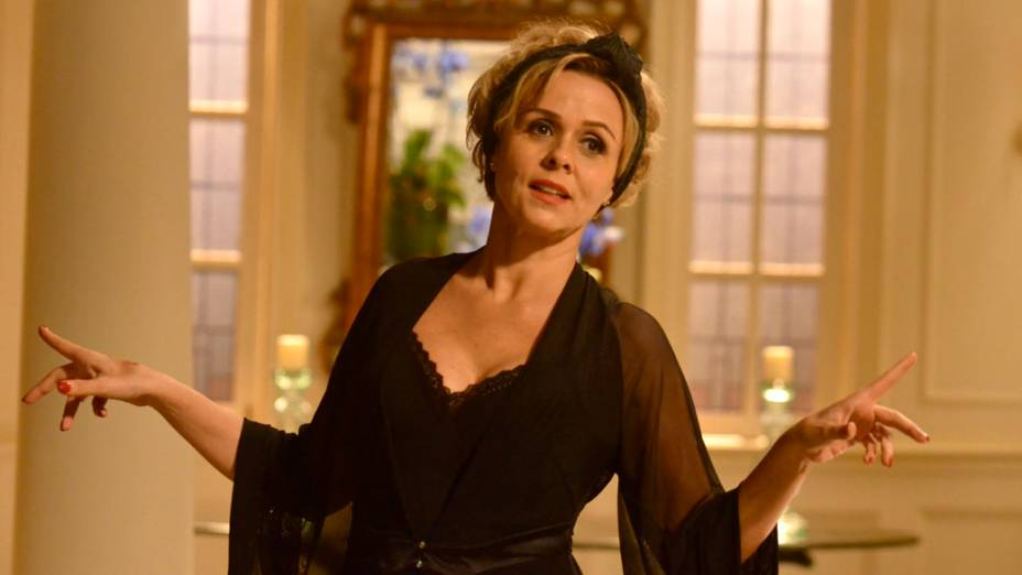 Bárbara (Giulia Gam) na novela Sangue Bom