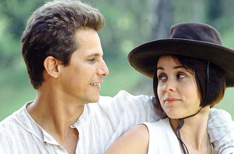 O sertão nordestino foi o cenário da novela <em>Fera Ferida</em>, de 1993, da Globo. Edson Celulari e Giulia Gam interpretaram o casal protagonista da trama.