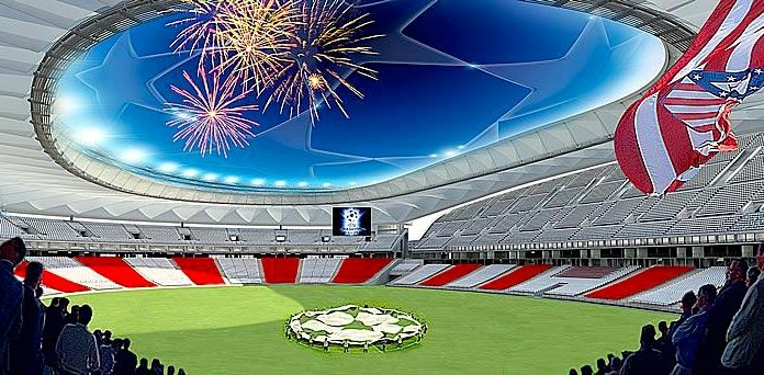 Projeto do novo estádio do Atlético de Madri