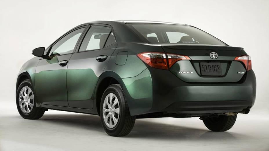 O novo Toyota Corolla 2014