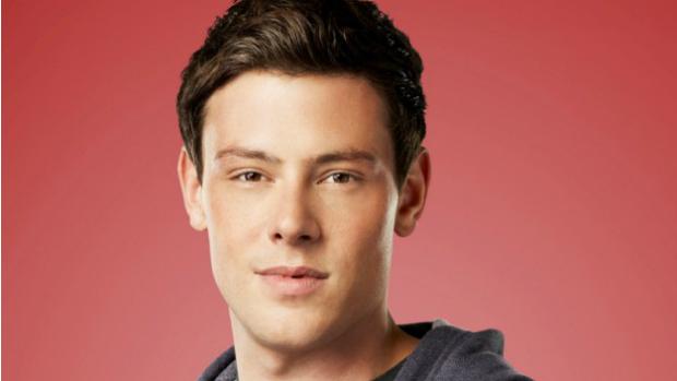 O ator Cory Monteith da série Glee