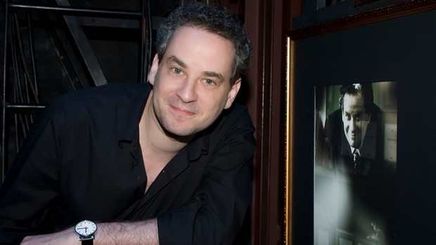O ator e apresentador Dan Stulbach