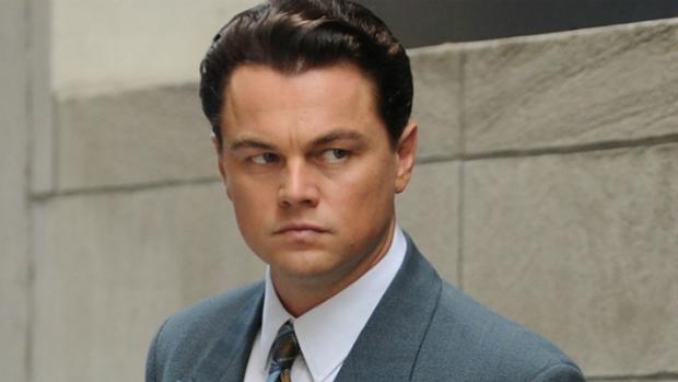 O ator Leonardo DiCaprio em cena do filme O Lobo de Wall Street