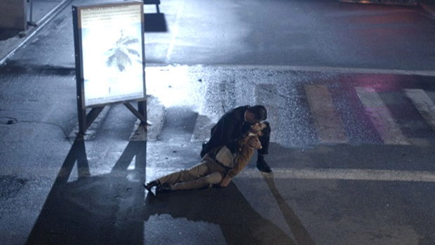 O beijo gay entre Tuco (Lúcio Mauro Filho) e Thiago Lacerda, em A Grande Família