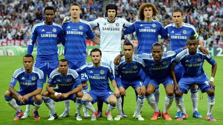 O Chelsea venceu o Barcelona nas semifinais