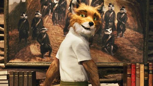 Cena da animação O Fantástico Sr. Raposo (2009)