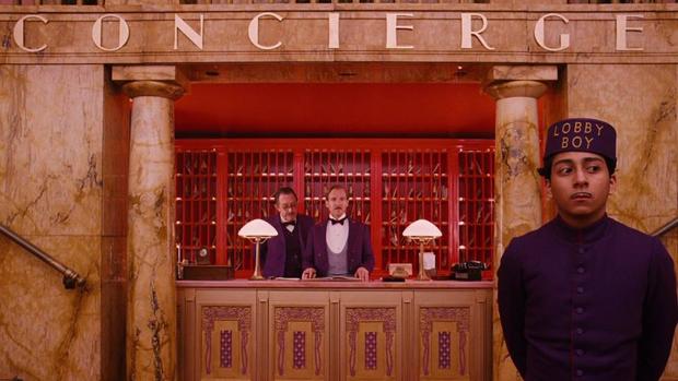 Cena do filme O Grande Hotel Budapeste (2014)