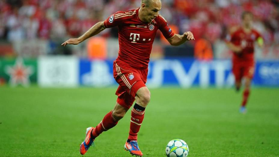 O holandês Robben foi um dos destaques do Bayern de Munique na temporada