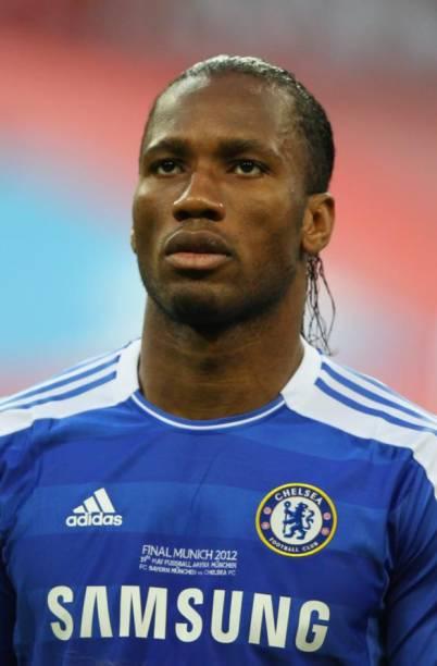 O marfinense Didier Drogba era a esperança de gols do Chelsea
