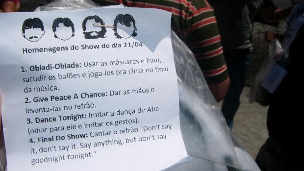 O passo a passo da preparação dos fãs para o primeiro show de Paul McCartney no Recife