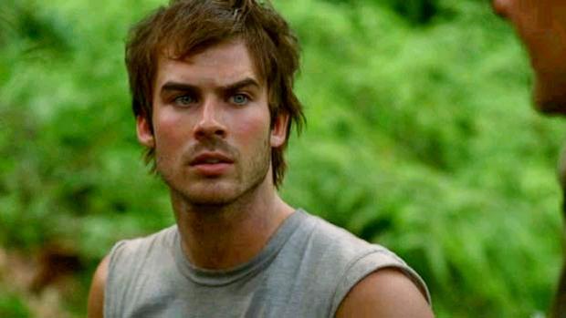 O personagem Boone (Ian Somerhalder), em 'Lost'