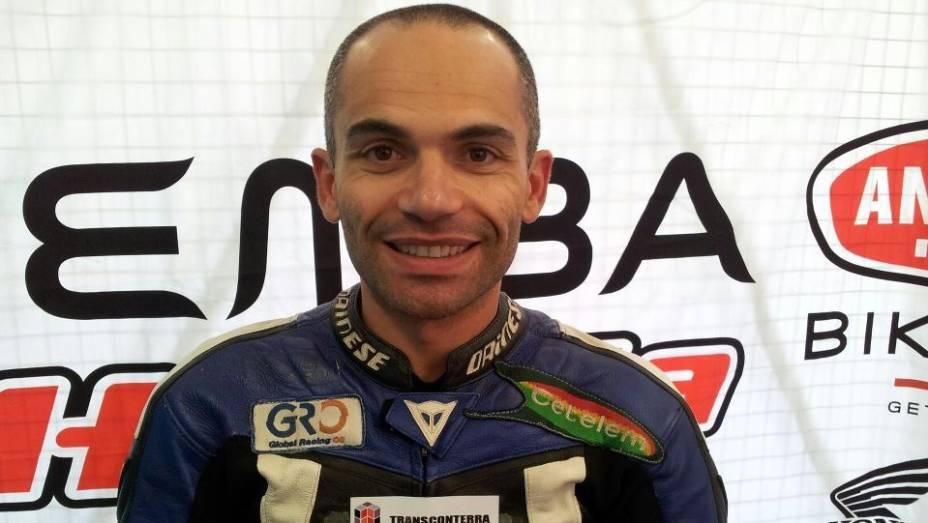 O piloto português Luís Carreira