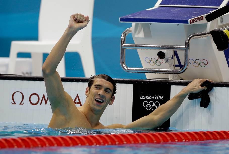 Michael Phelps conquistou a medalha de ouro nos 100m borboleta, ampliando para 21 o total de pódios olímpicos em 03/08
