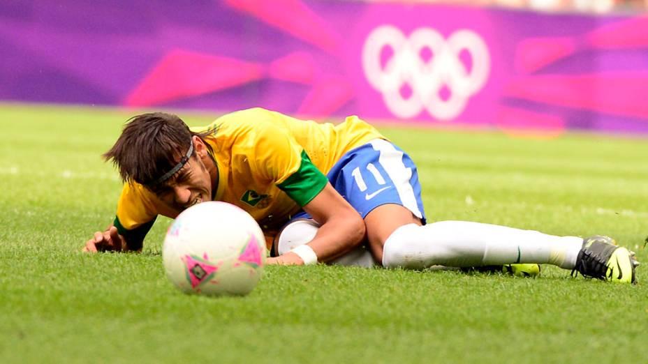 Partida entre Brasil e México nos Jogos Olímpicos de Londres 2012