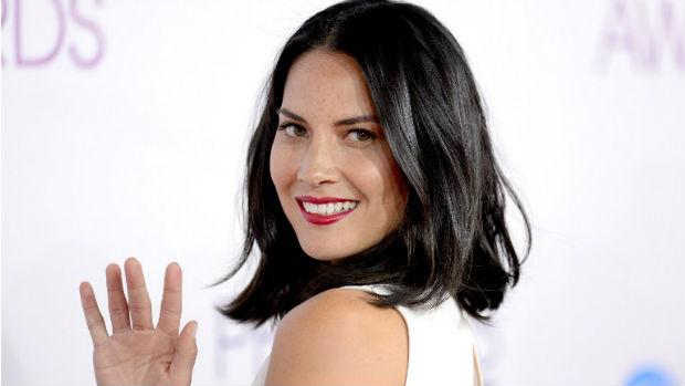 A atriz Oliva Munn