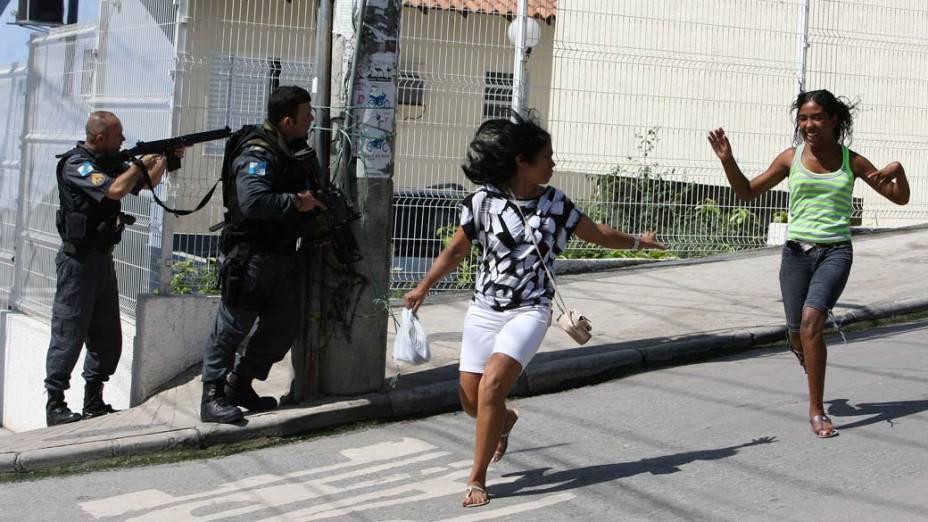 Na sexta-feira, dia 26 de novembro, operação policial no Complexo do Alemão, na zona norte do Rio de Janeiro