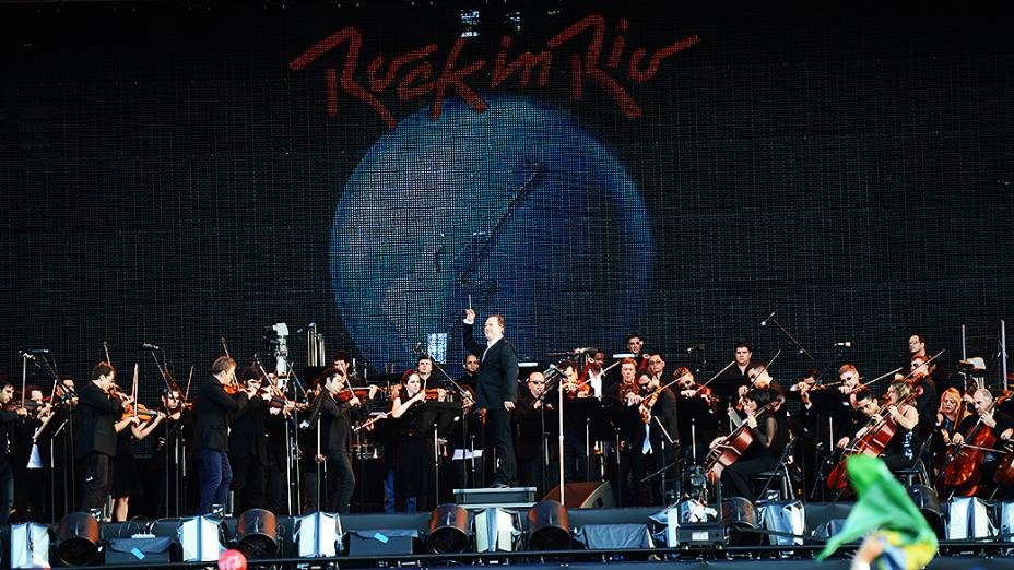 Apresentação da Orquestra Sinfônica Brasileira no Rock in Rio 2013