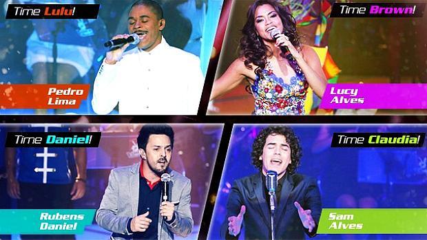 Os finalistas do The Voice Brasil