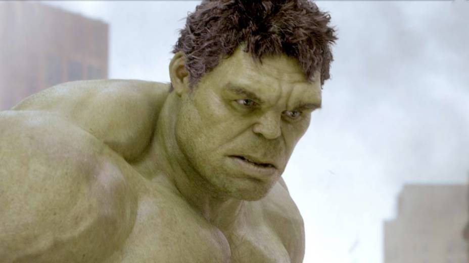 Mark Ruffalo, que aparece como Hulk/Bruce Banner no filme Os Vingadores
