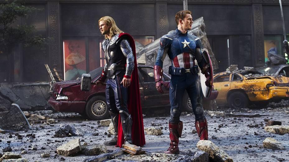 Cena do filme Os Vingadores