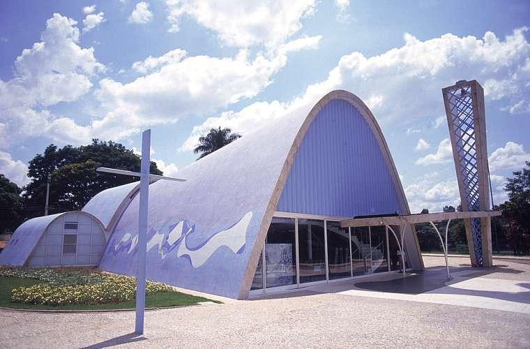A igreja São Francisco de Assis, inaugurada em 1943, foi a última construção do Conjunto da Pampulha a ficar pronta.