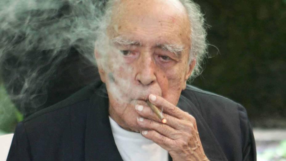 2007 - Arquiteto Oscar Niemeyer durante seu aniversário de 100 anos<br>