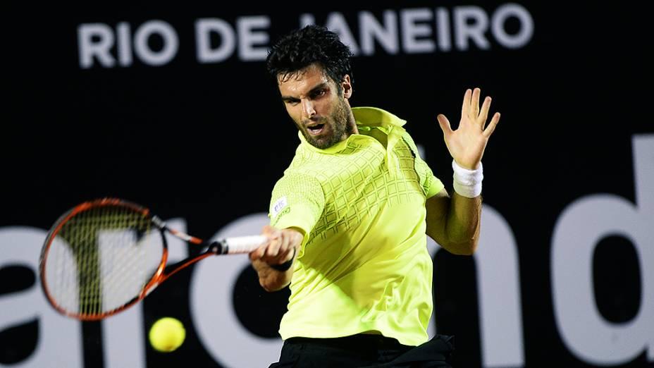 Pablo Andujar durante o Rio Open