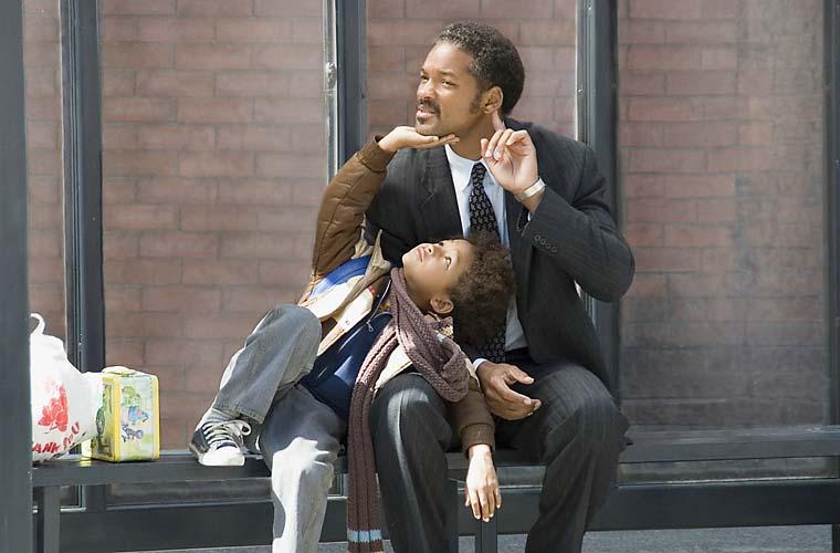 Will Smith trabalhou com o filho Jaden em À Procura da Felicidade.