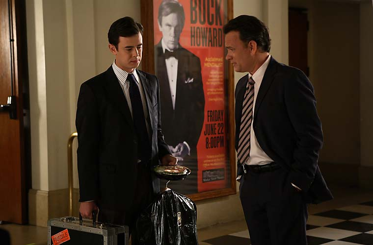 Colin e Tom Hanks.