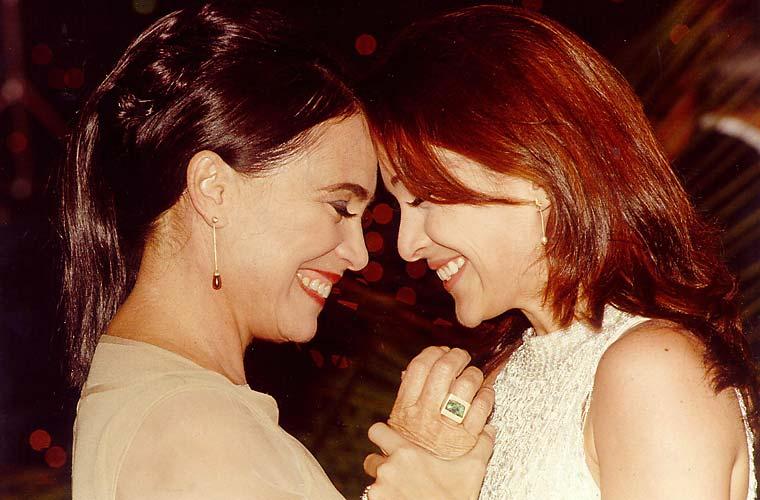 Em 1997, Regina e Gabriela Duarte interpretaram mãe e filha na novela Por Amor, de Manuel Carlos.