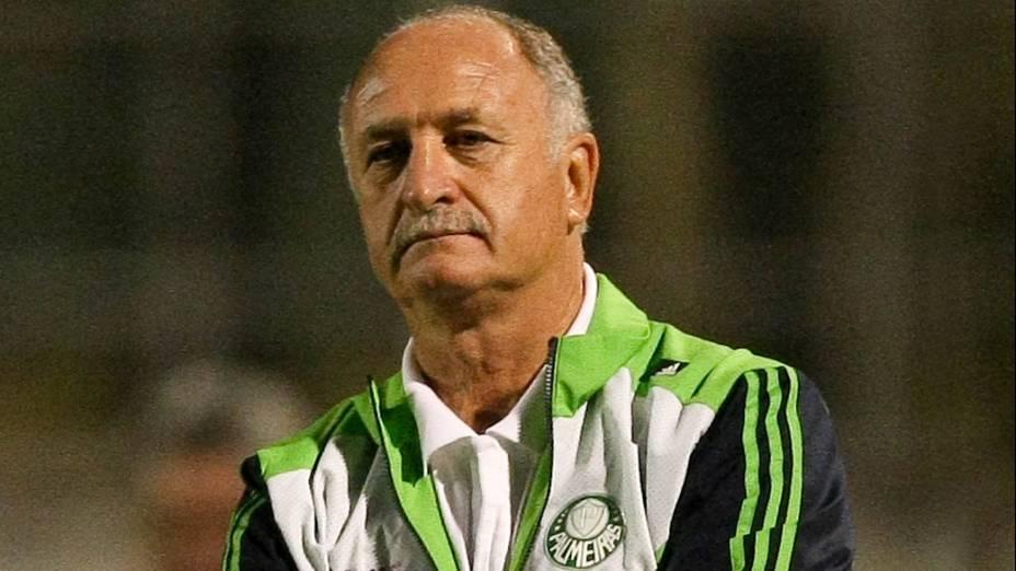 No Palmeiras, durante partida contra a Portuguesa pelo Campeonato Brasileiro