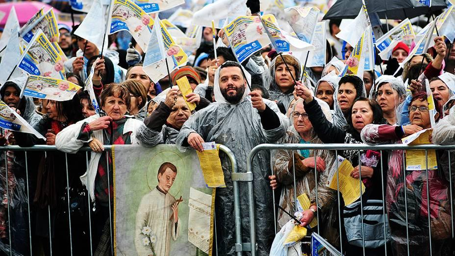 Papa Francisco celebra missa nessa quarta-feira (24) na Basílica de Aparecida