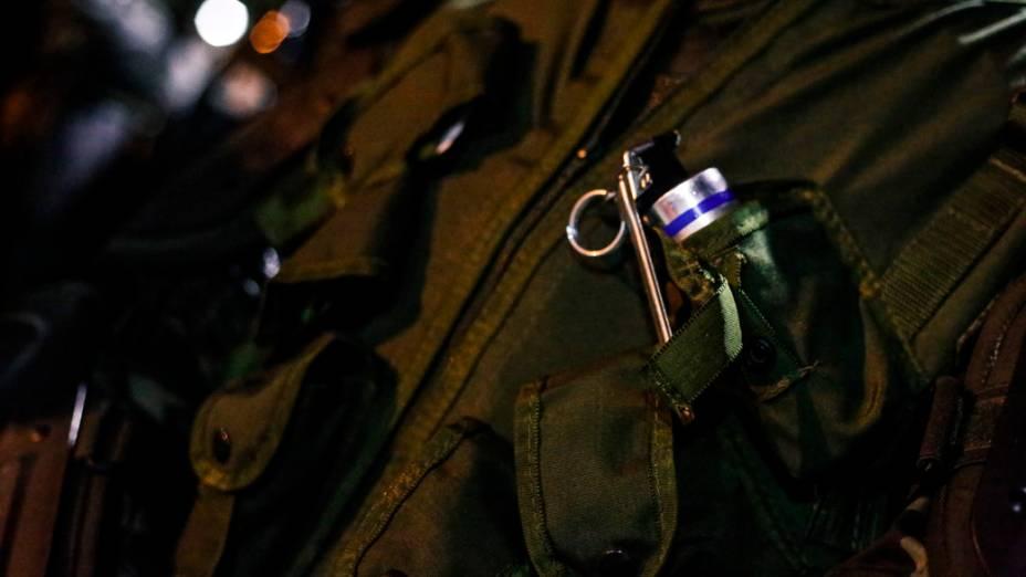 Policiais durante a JMJ no Rio de Janeiro