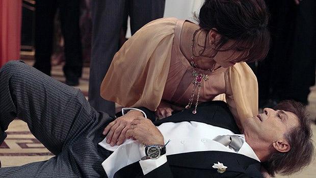 Participação relâmpago: personagem de Carlos Alberto Ricelli morre no primeiro capítulo de Guerra dos Sexos