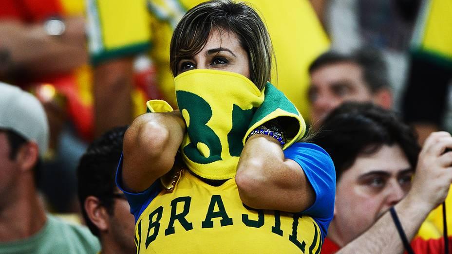 Torcida durante a final da Copa das Confederações no Maracanã