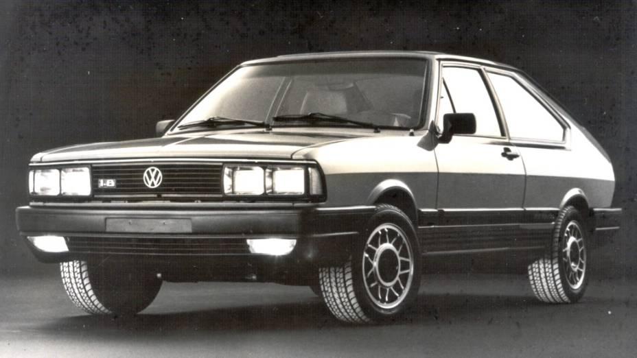 O Passat deixou de ser fabricado no Brasil em 1988. Este da foto é um GTS Pointer equipado com o mesmo motor 1.8 do Santana