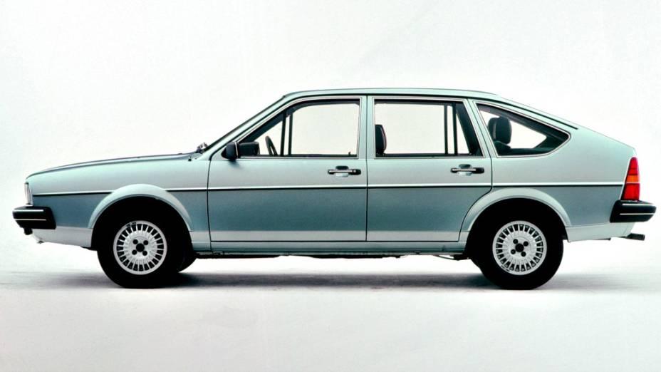 A versão fastback do Passat de segunda geração, que não chegou a vir para o Brasil
