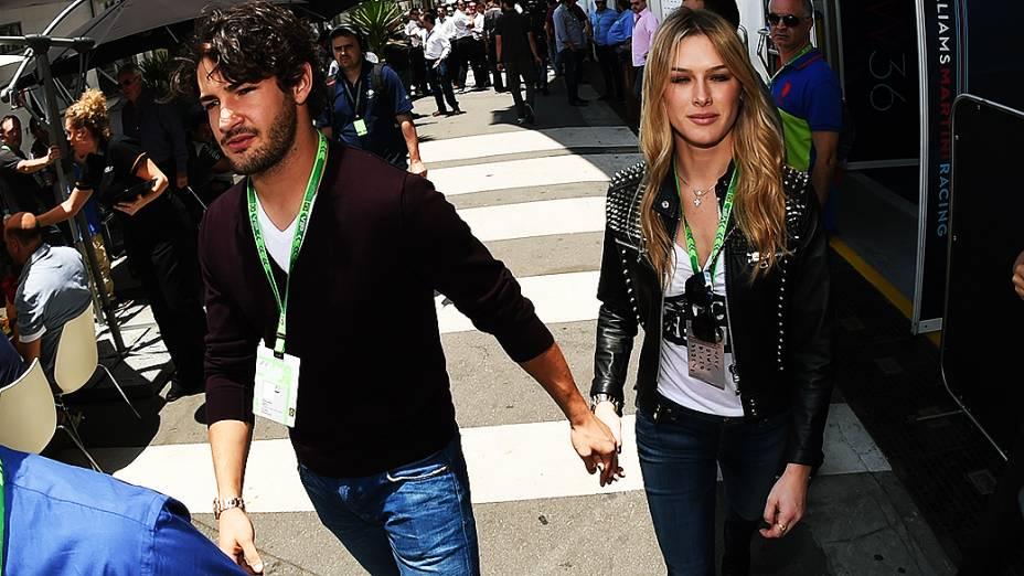 Alexandre Pato e Fiorella Mattheis