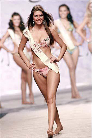 Patrícia Reginato, eleita Miss Mundo Brasil 2005