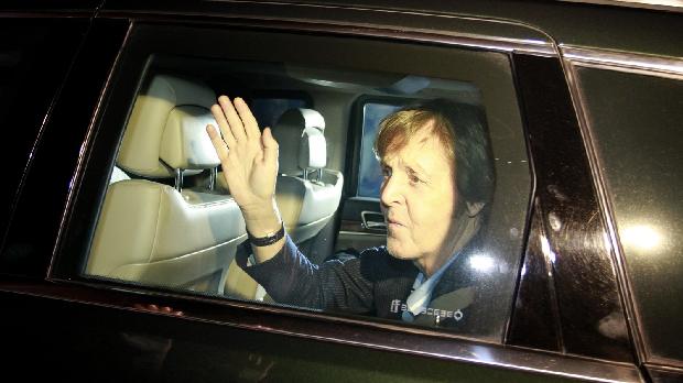 Paul McCartney chega ao Hotel no Recife para os shows da Turne <em>On the Run</em> 2012