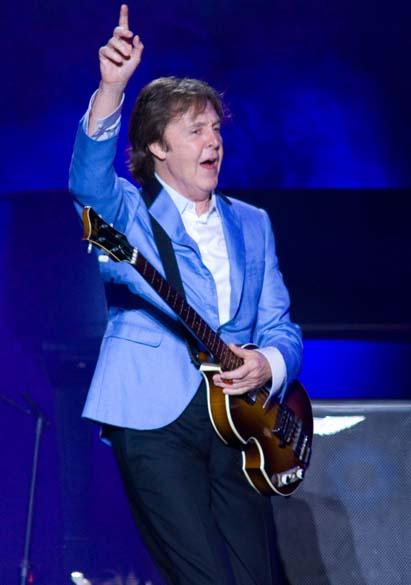 Show de Paul McCartney no estádio do Engenhão, no Rio de Janeiro