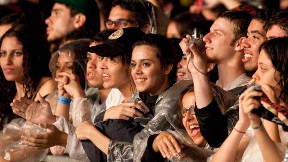 Público durante o segundo show de Paul McCartney em São Paulo – 22/11/2010