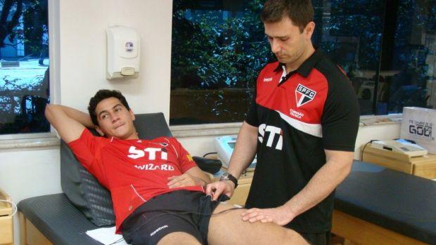 Paulo Henrique Ganso inicia tratamento no Reffis, do São Paulo