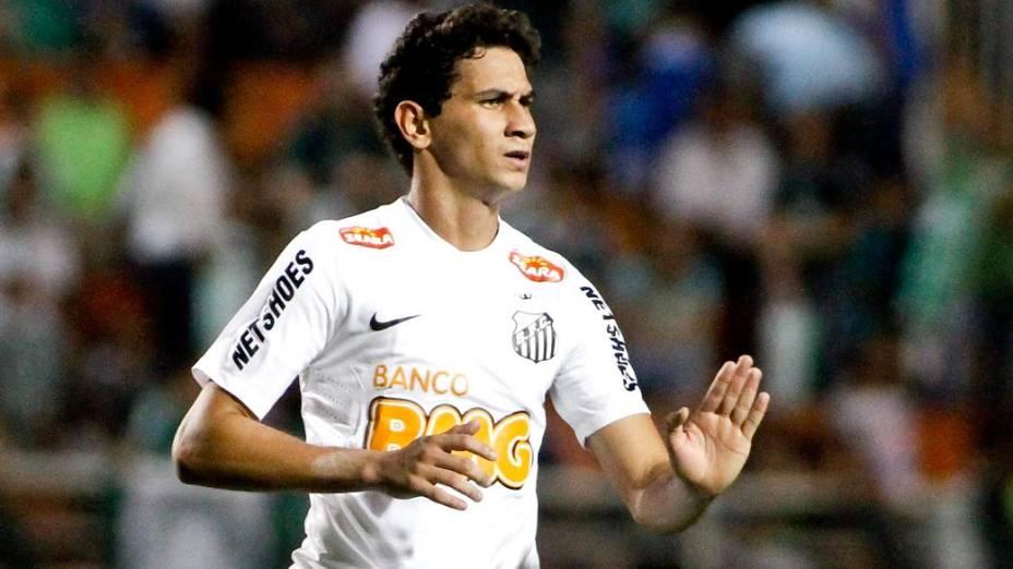 Paulo Henrique Ganso durante partida do Campeonato Brasileiro 2012