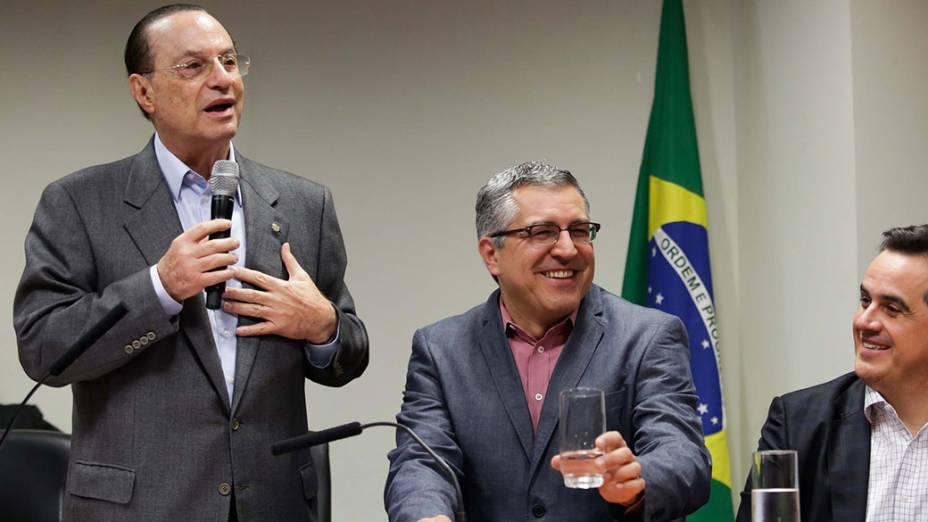 Maluf declara apoio do PP à candidatura de Padilha ao governo de São Paulo